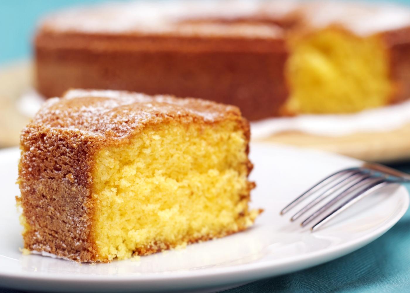 Receitas de bolos saudáveis para fazer com as crianças: bolo de iogurte