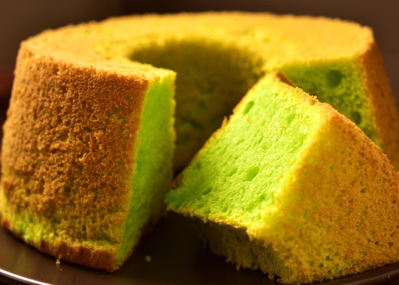 Receitas de bolos saudáveis para fazer com as crianças: bolo verde