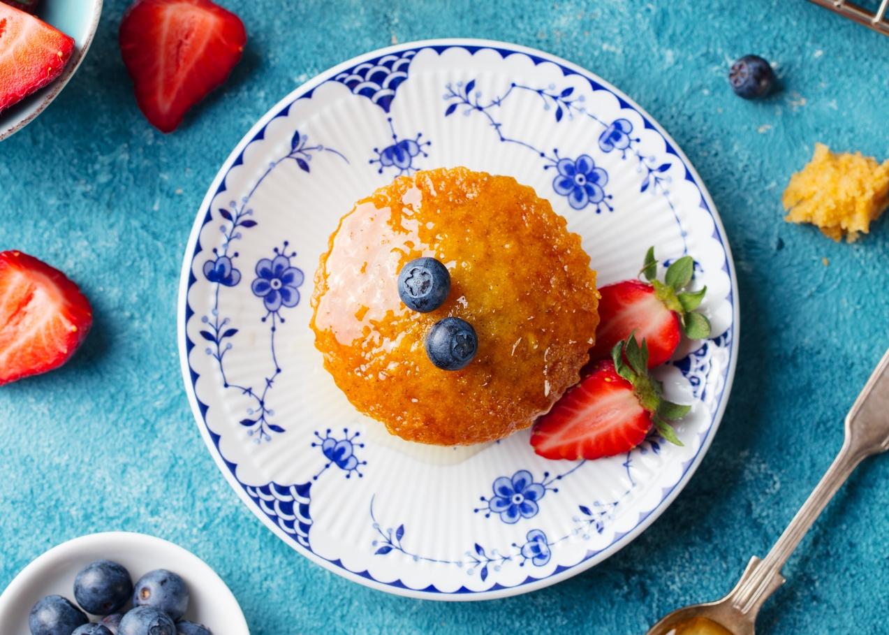 receitas de bolos saudáveis para fazer com as crianças: bolos de cenoura
