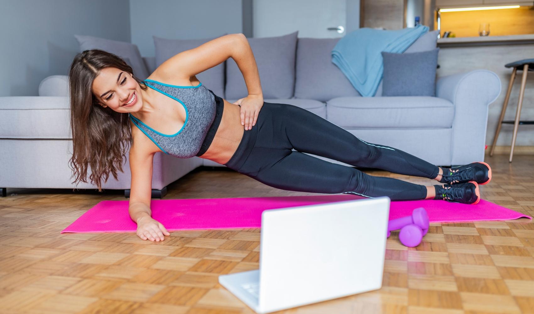 Canais do youtube para fazer exercício em casa: sugestões