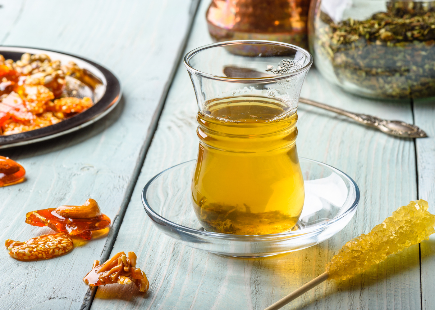 bebidas anti-inflamatórias com mel e açafrão