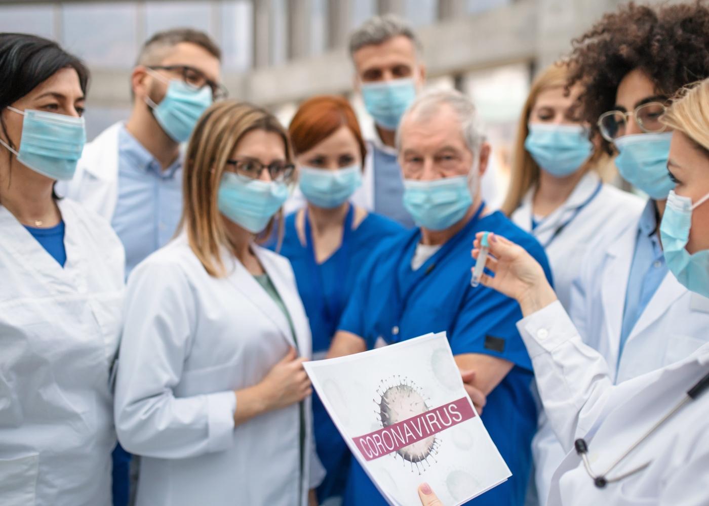 Fase de mitigação COVID-19: médicos e enfermeiros a prepararem-se para aumento de casos