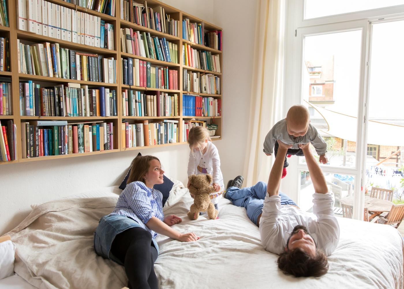 como lidar e entreter as crianças em casa: dicas