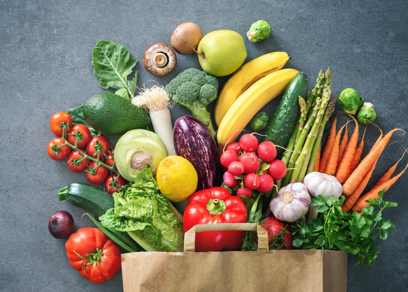 Produtores locais: frutas e legumes para entrega em casa