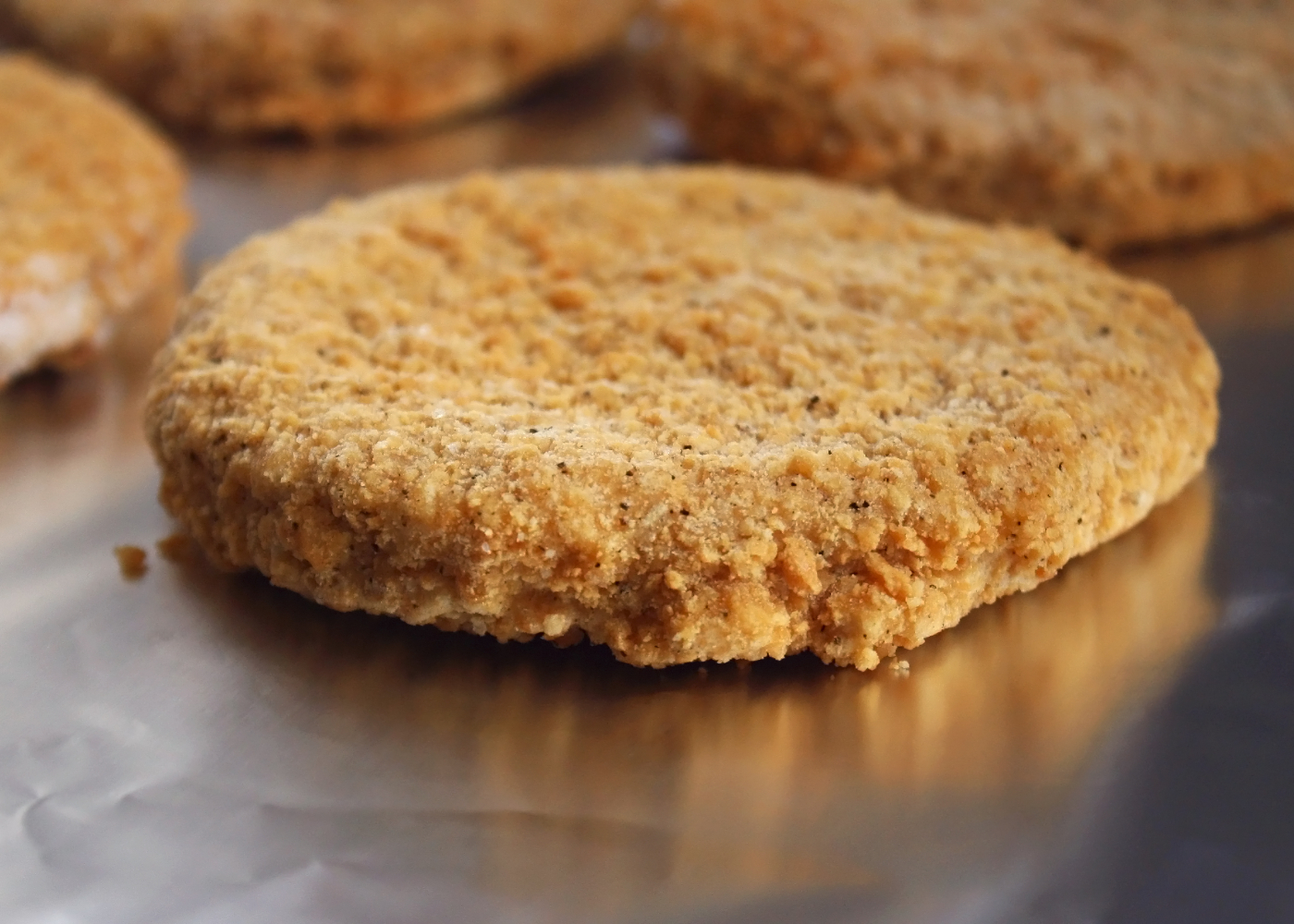 hamburguer de frango saudável para crianças