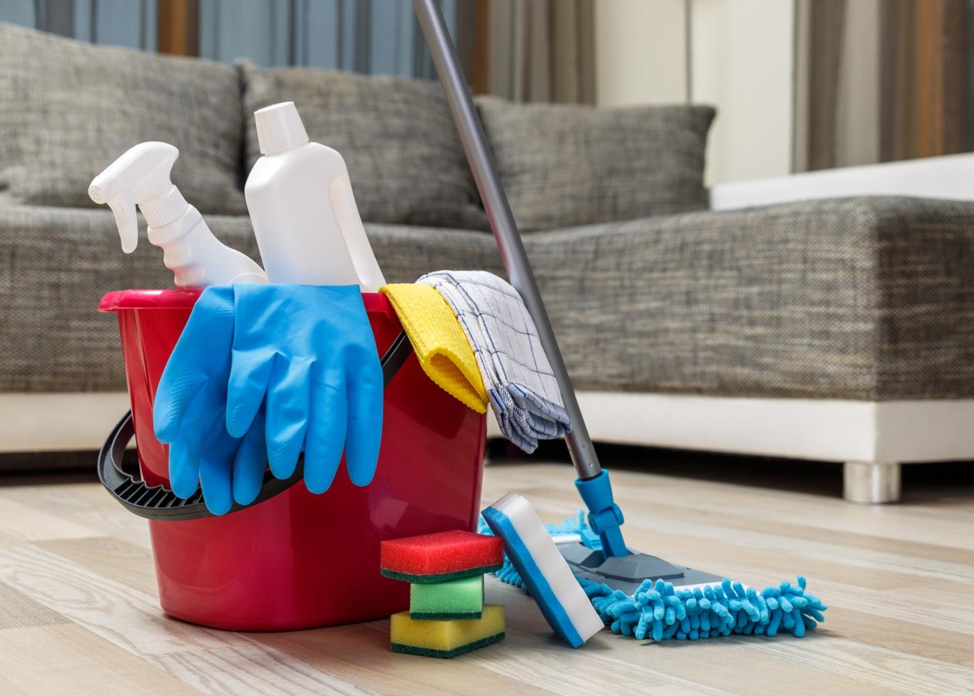 Como desinfetar objetos: áreas de passagem frequente