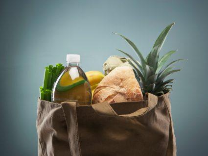 saco de compras de supermercado
