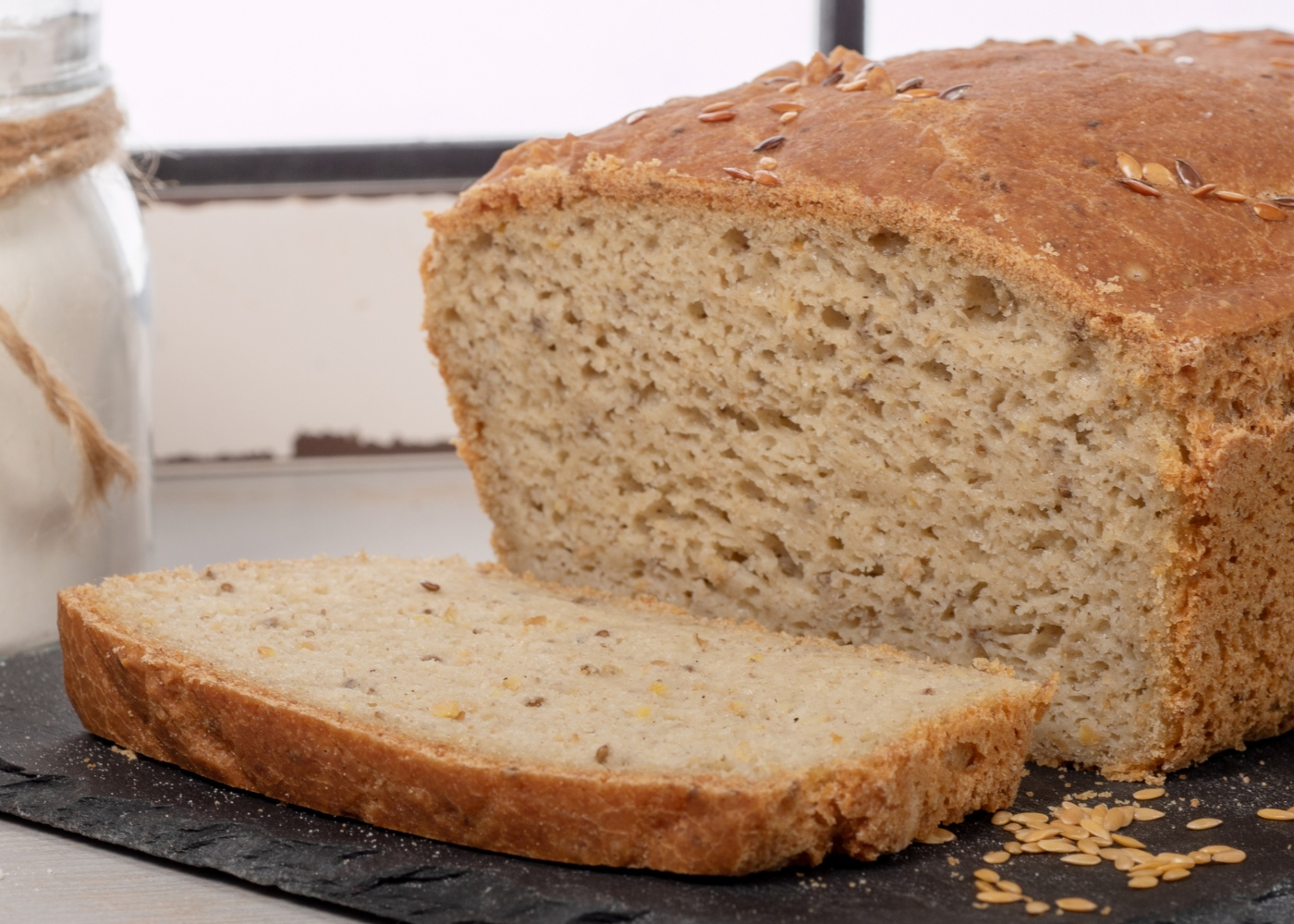Pão de espelta e arroz integral