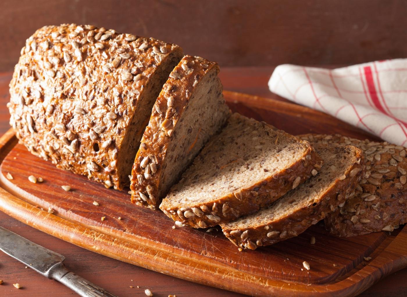 Pão de espelta com centeio integral