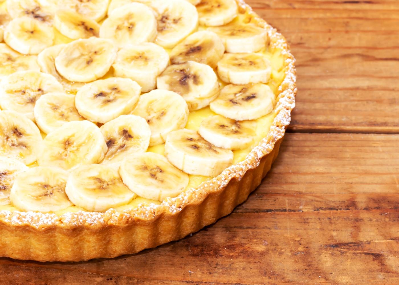 Tarte de banana simples