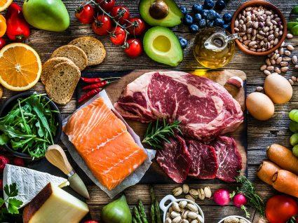 Retirar a gordura da dieta: variedade de alimentos