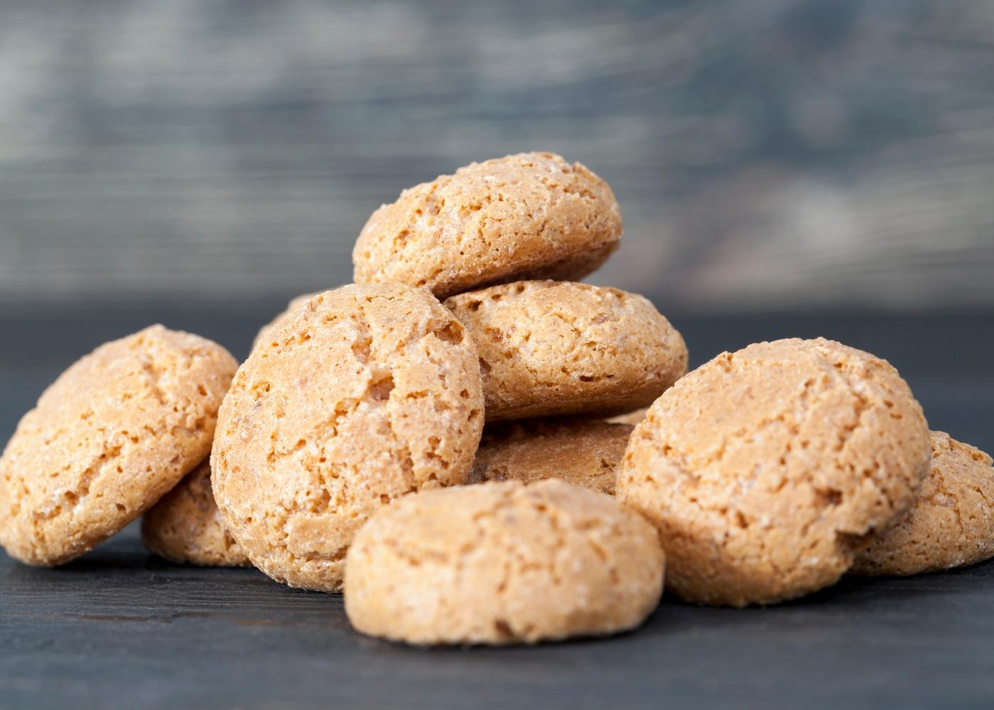 Biscoitos de manteiga com amendoa