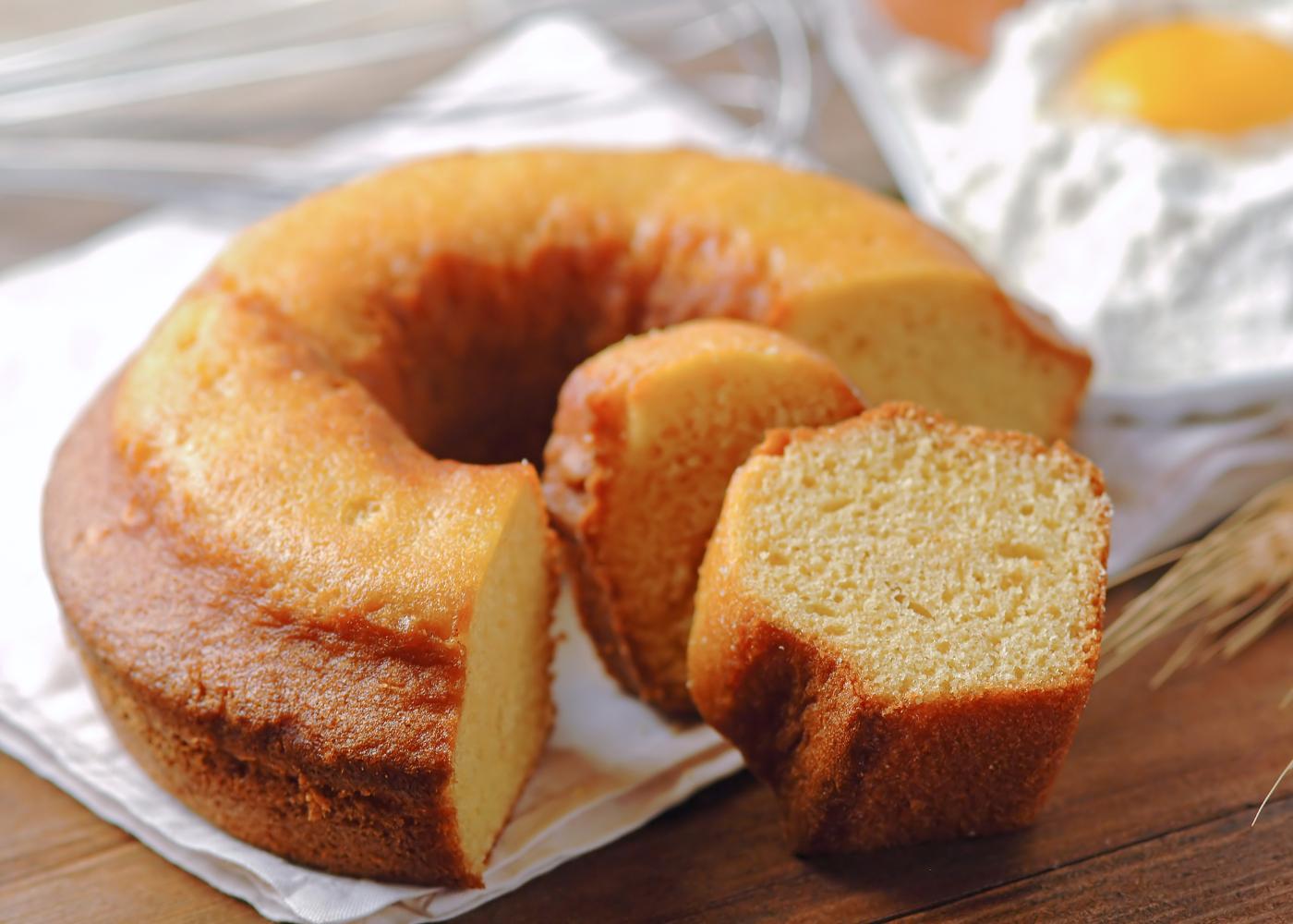 bolo de laranja simples