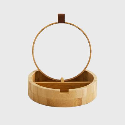 Caixa de jóias de madeira