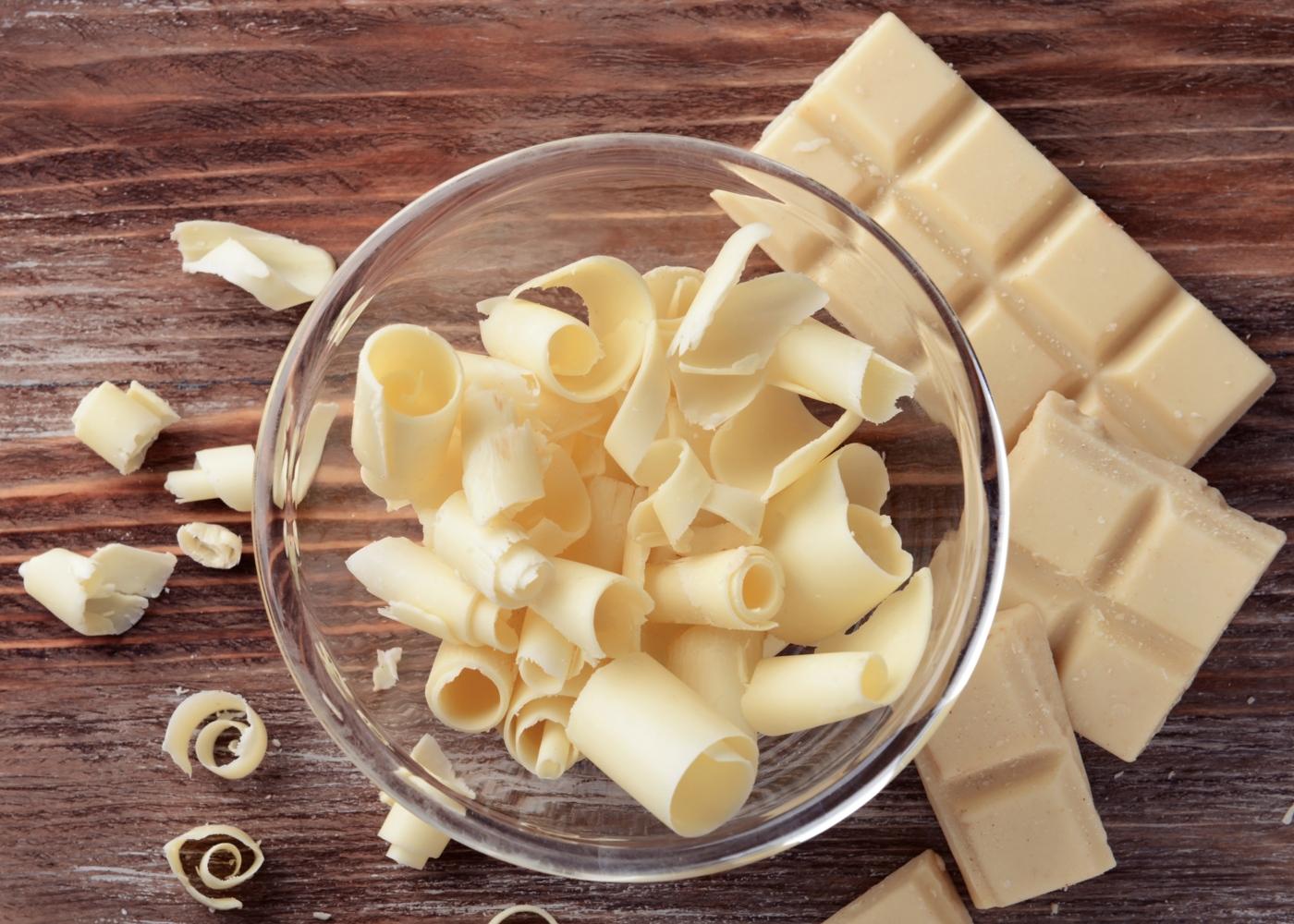 Ganache de chocolate branco