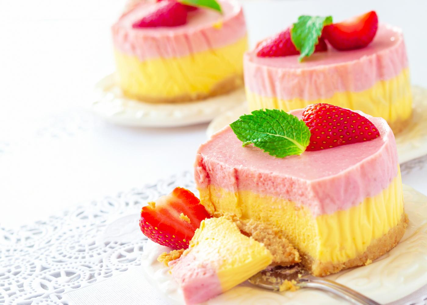 gelado de gelatina de sabores