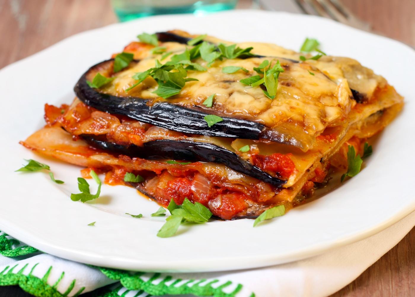 Lasanha low carb de beringela