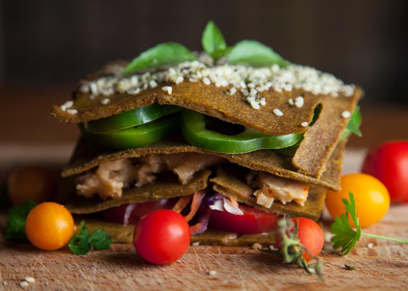 Lasanha low carb de quinoa