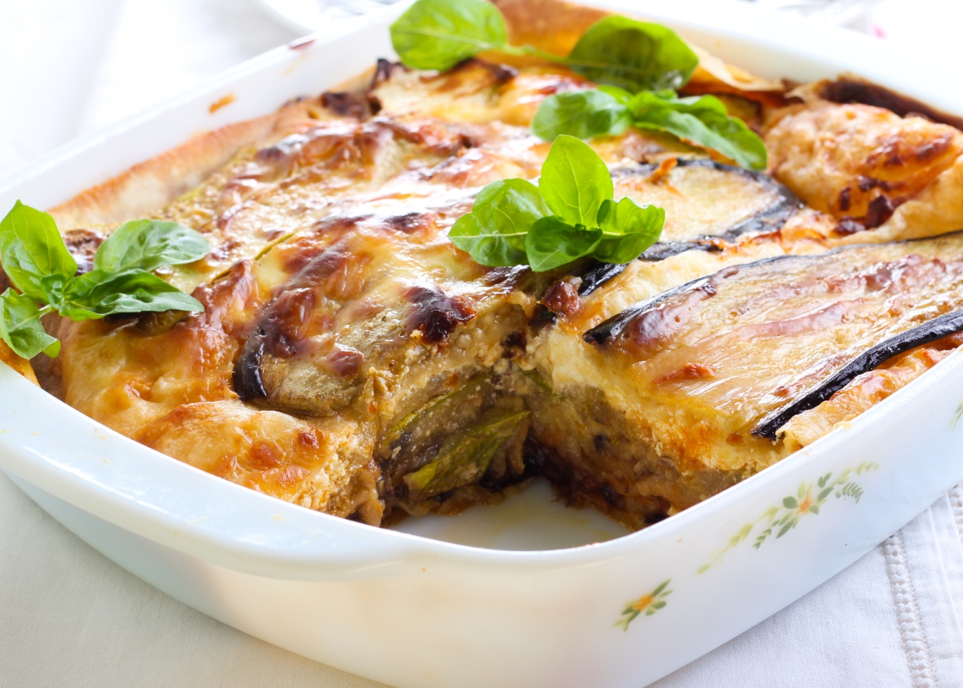 Lasanha low carb vegan