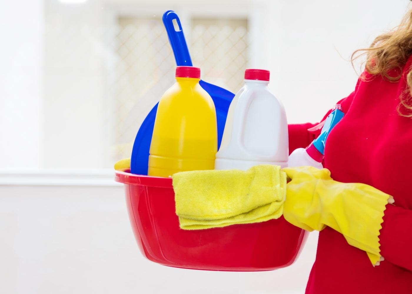 Como limpar as patas do seu cão quando chega a casa: lavar com lixívia