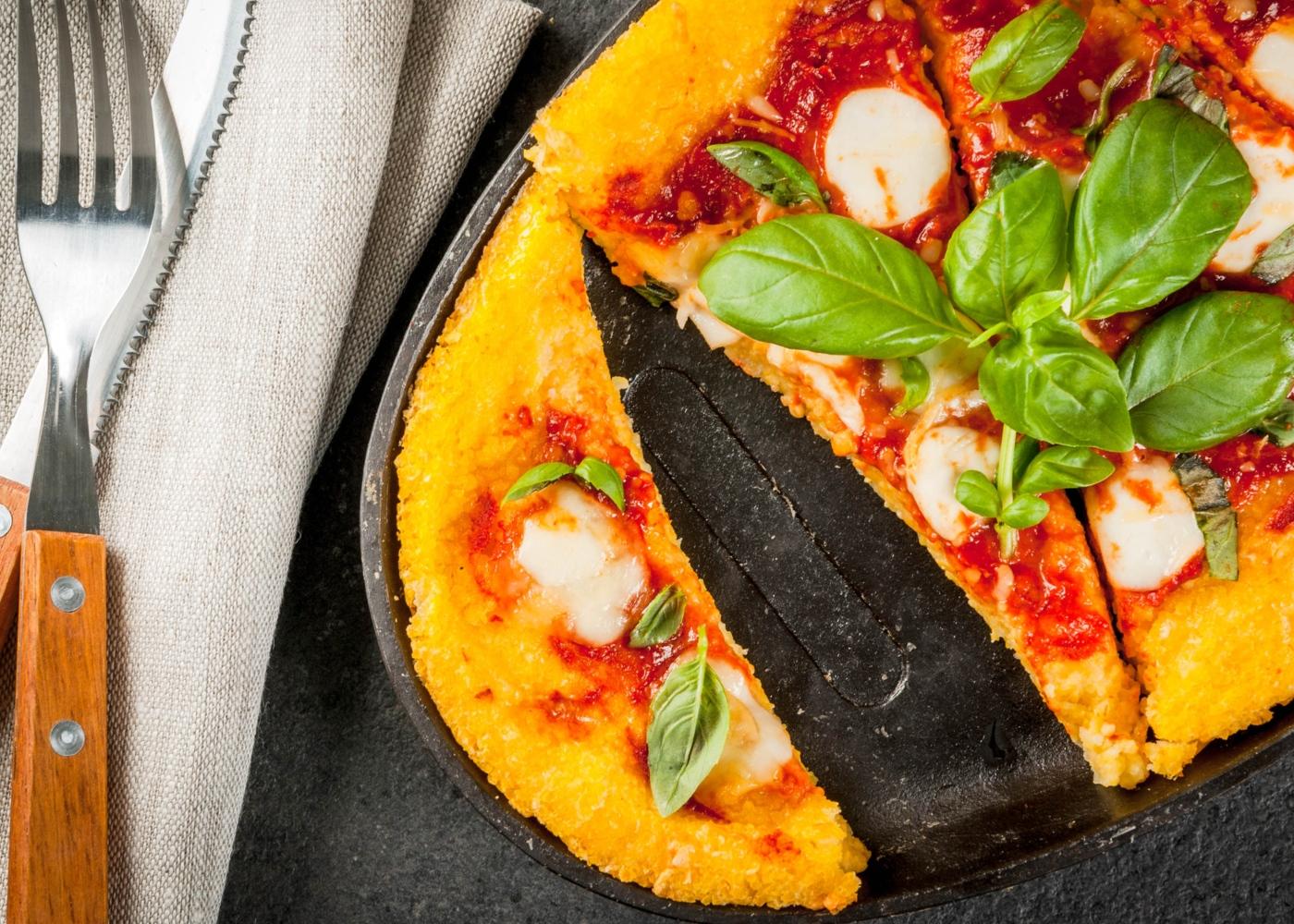 Como fazer massa de pizza de couve-flor
