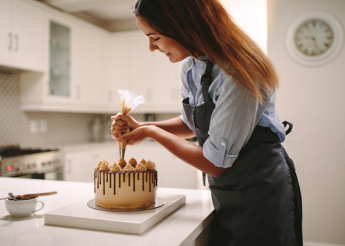 Ideias para o Dia da Mãe: fazer um bolo