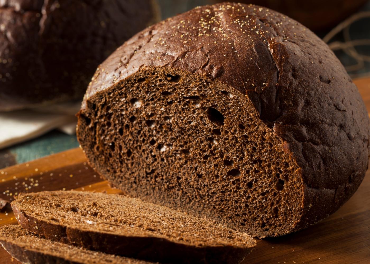 Pão de alfarroba paleo