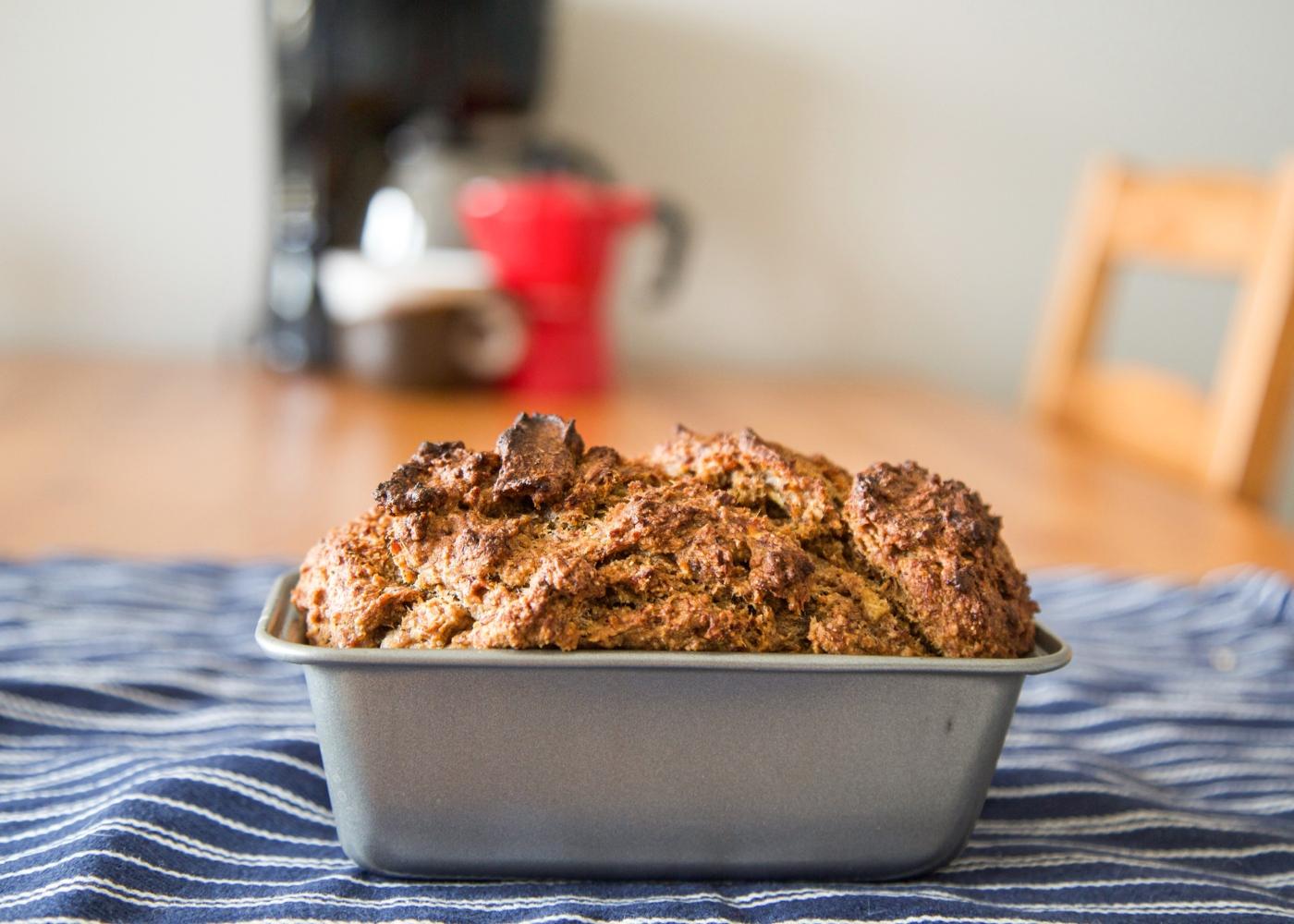 Pão de batata-doce e canela