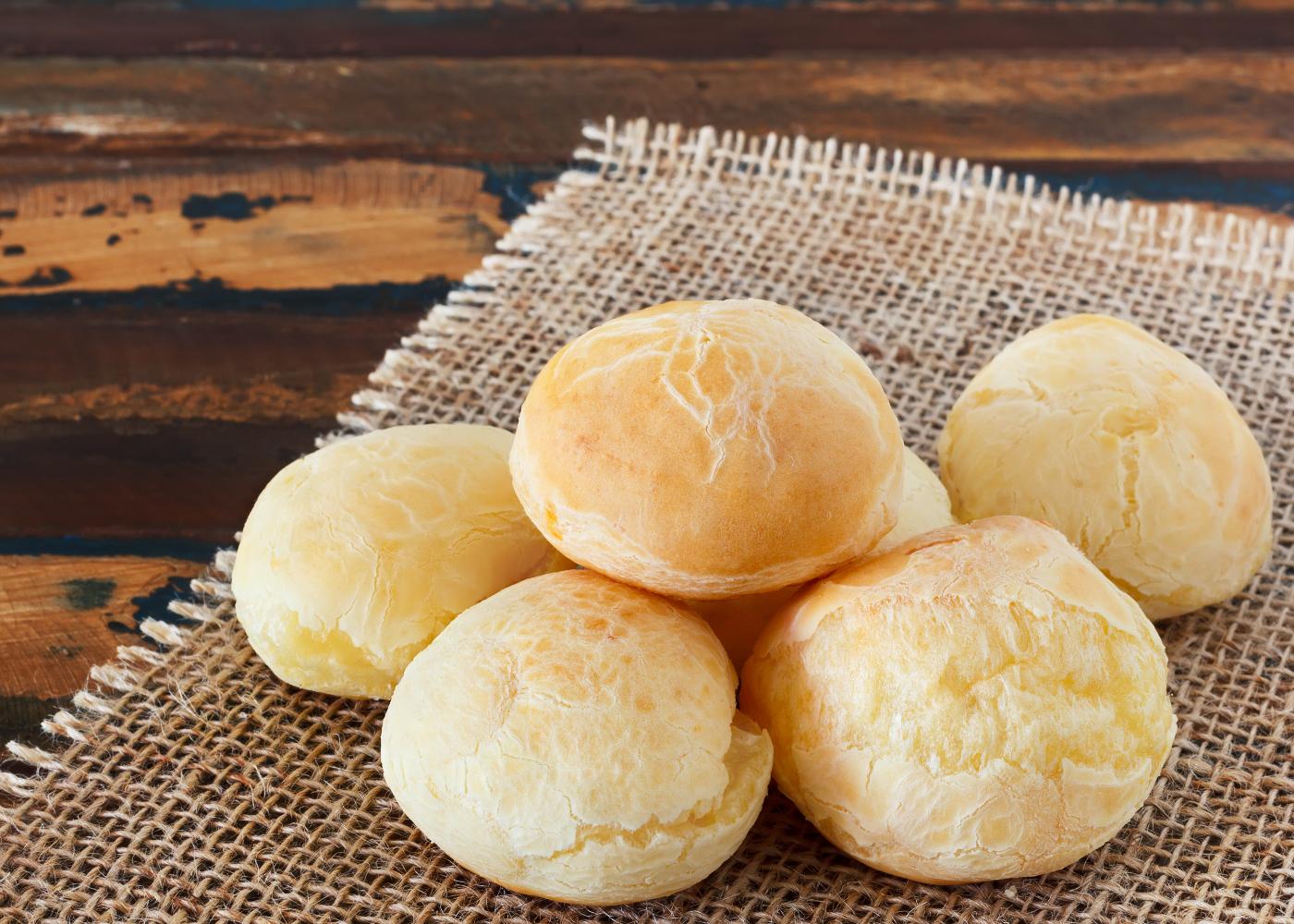 pão de queijo com polvilho azedoi