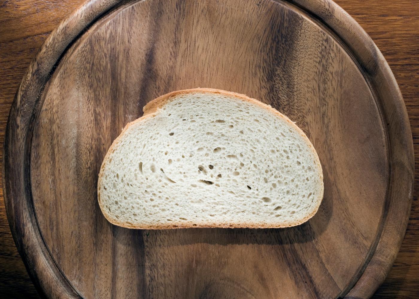 pão sem glúten de arroz e trigo sarraceno