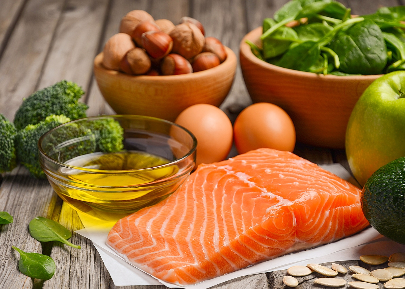 Peixe, ovos e hortícolas para comer menos carne