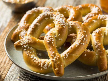 Receitas de pretzels