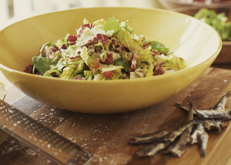 Receitas com enlatados: salada de ssardinha