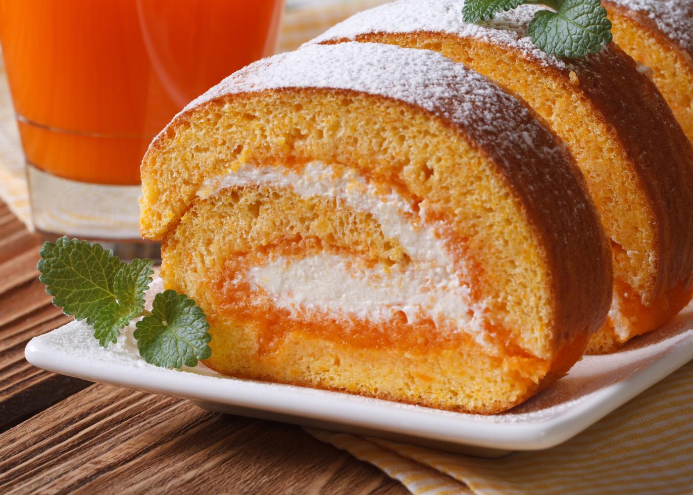 fatia torta de laranja