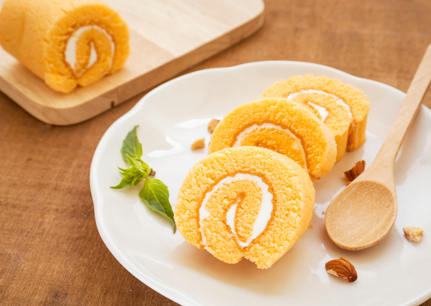 torta de laranja com creme de pasteleiro