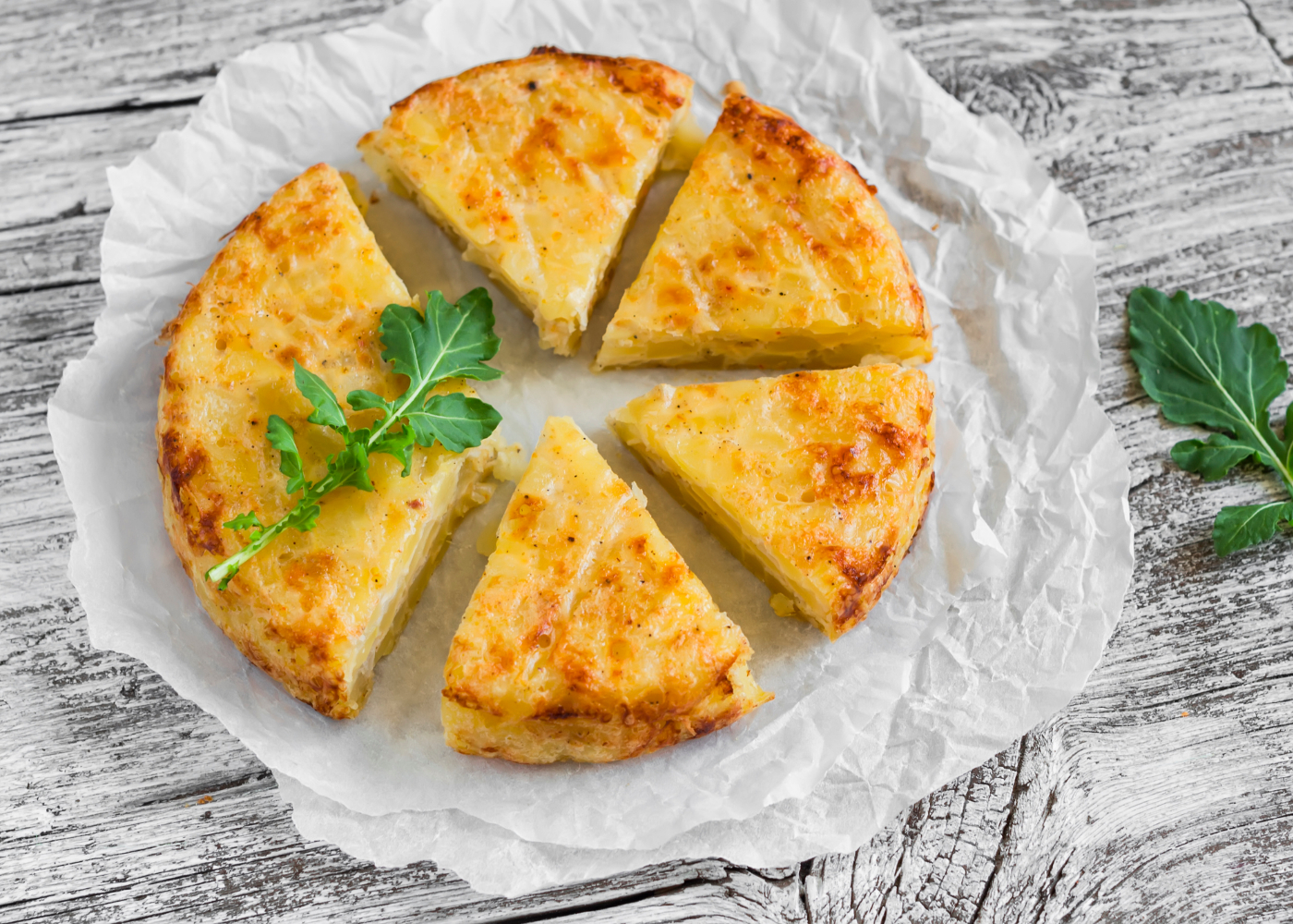 tortilha de batata e atum
