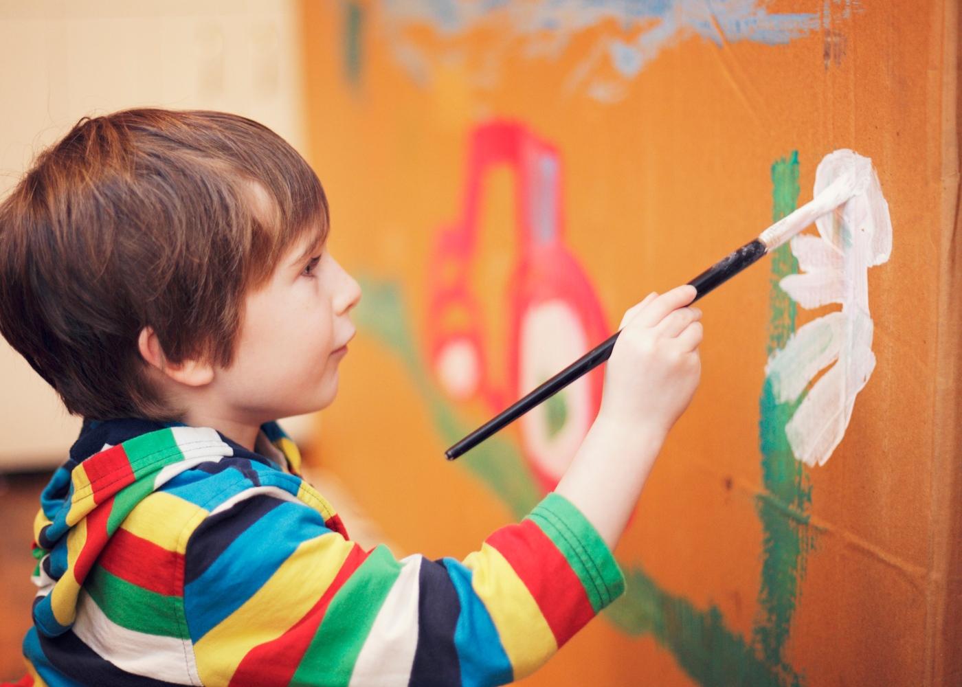 Cursos para fazer em casa: arte para crianças