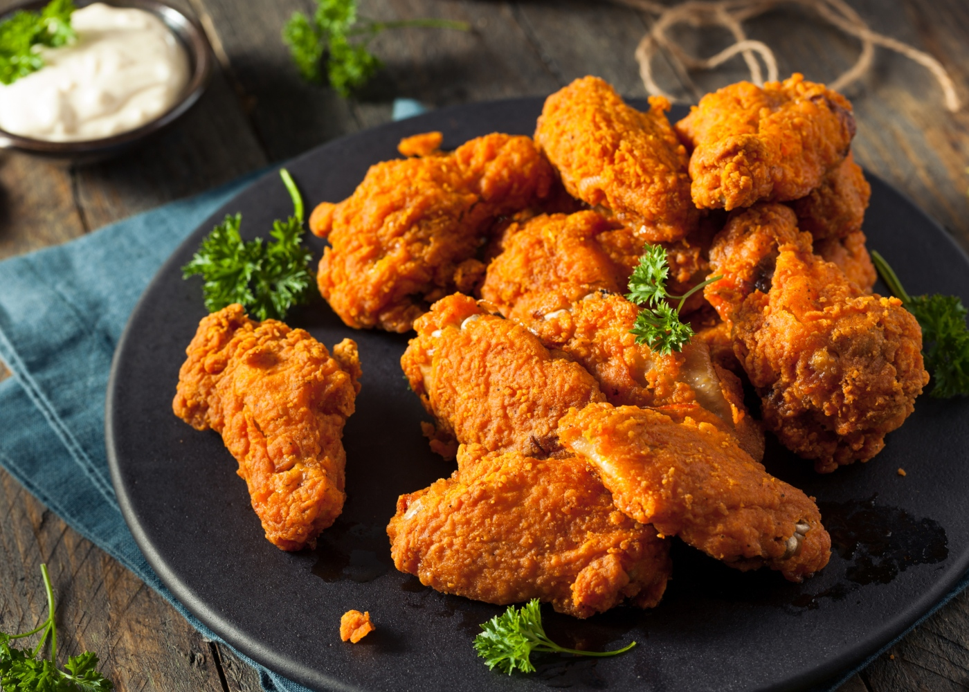 Receitas do mundo: Buffalo wings