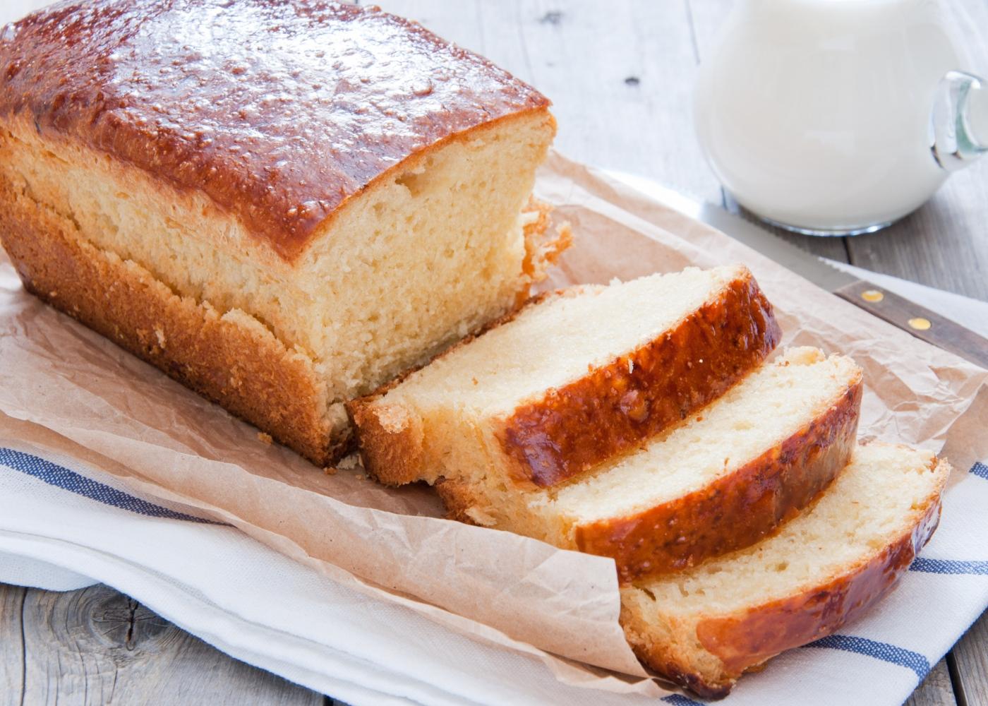 Pão de manteiga de amendoim com mel