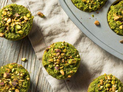 Receitas de snacks à base de hortícolas: muffins