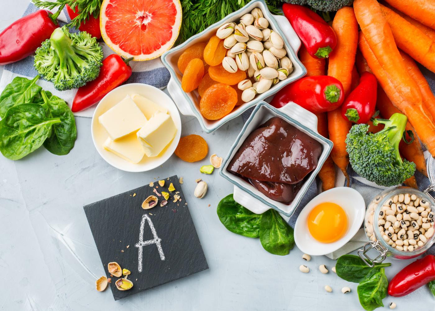 Vitaminas para gestantes: vitamina A