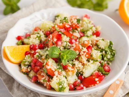 Almoços de verão: salada de cuscuz