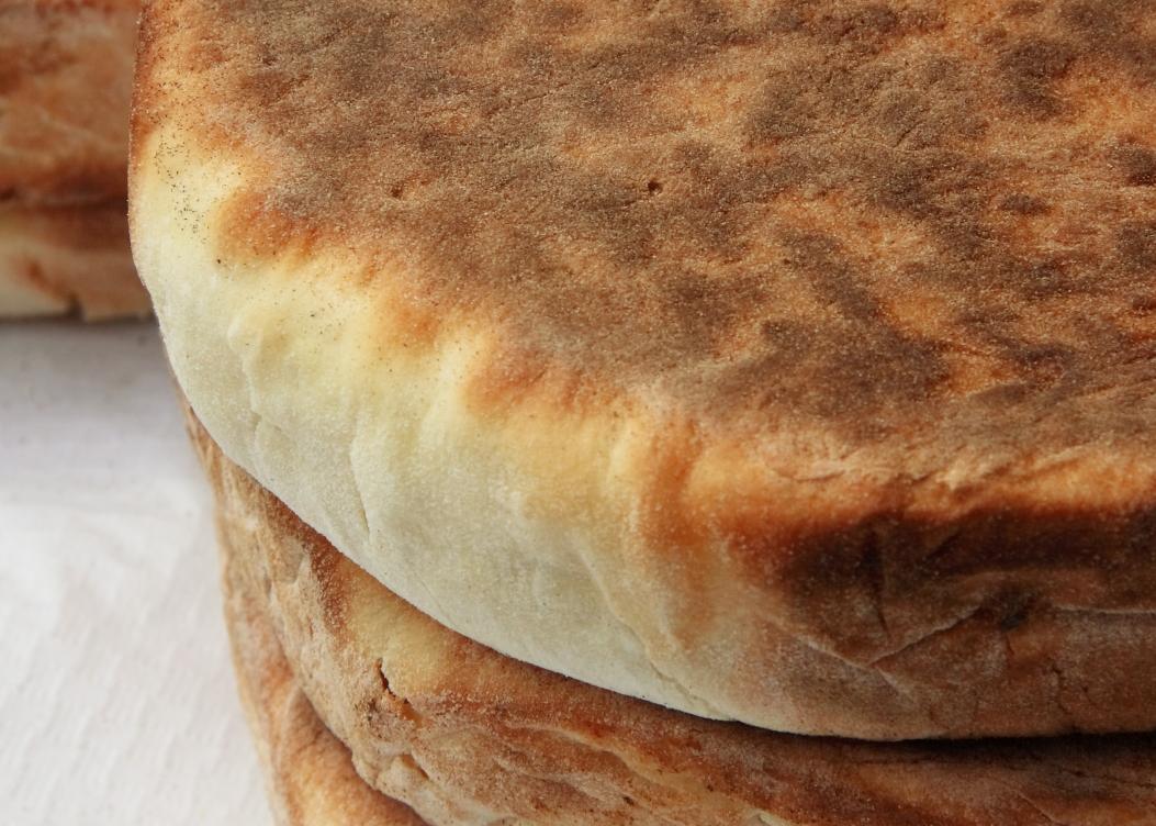 Bolo do caco com farinha de aveia