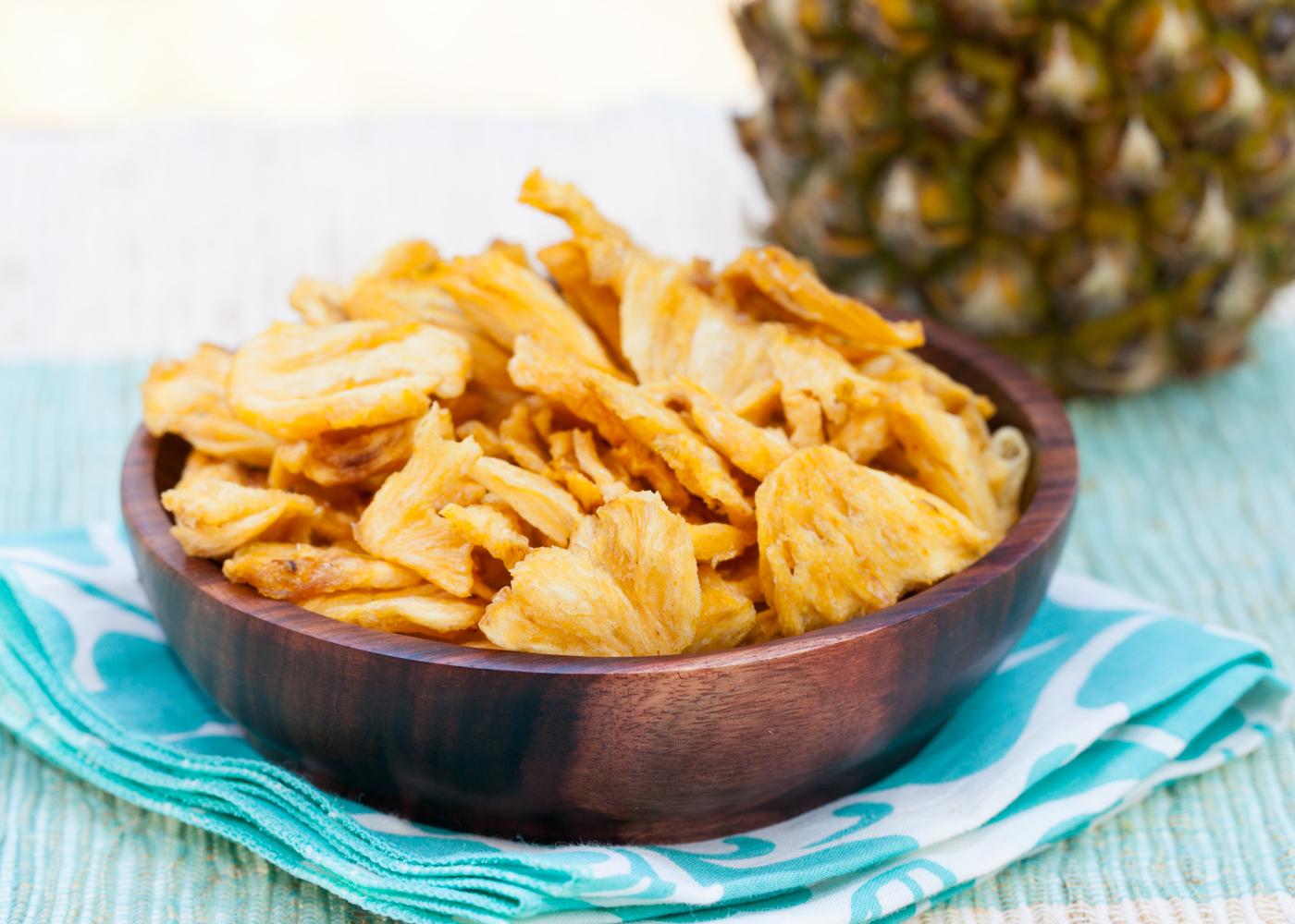 chips de ananás