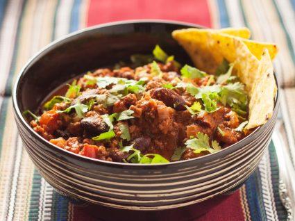 Receitas mexicanas: chili de carne