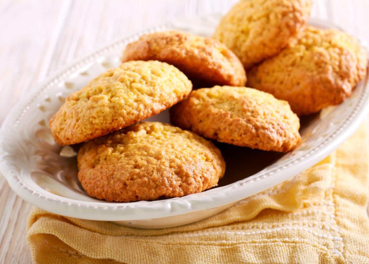 Biscoitos de farinha de milho