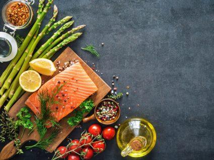 Alimentos característicos da Dieta Mediterrânica