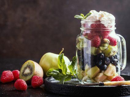 Frutas com poucos hidratos de carbono