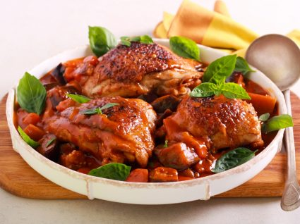 Receitas de frango guisado