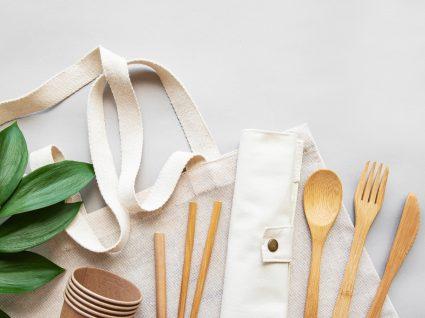 Utensílios de cozinha ecológicos
